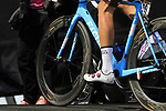 AG2R La Mondiale at sign on before Stage 1 of the 100th edition of the Giro d'Italia 2017, running 206km from Alghero to Olbia, Sardinia, Italy. 4th May 2017.<br /> Picture: Eoin Clarke | Cyclefile<br /> <br /> <br /> All photos usage must carry mandatory copyright credit (&copy; Cyclefile | Eoin Clarke)