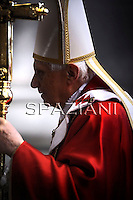 Mass for Cardinals who died during the year on Benedict XVI at The Vatican.November 4, 2010