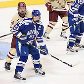 Bill Arnold (BC - 24), Scott Mathis (Air Force - 23) The Boston College Eagles defeated the Air Force Academy Falcons 2-0 in their NCAA Northeast Regional semi-final matchup on Saturday, March 24, 2012, at the DCU Center in Worcester, Massachusetts.