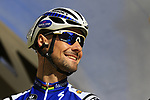 Soon to retire Tom Boonen (BEL) Quick-Step Floors team on stage at sign on before the 101st edition of the Tour of Flanders 2017 running 261km from Antwerp to Oudenaarde, Flanders, Belgium. 26th March 2017.<br /> Picture: Eoin Clarke | Cyclefile<br /> <br /> <br /> All photos usage must carry mandatory copyright credit (&copy; Cyclefile | Eoin Clarke)