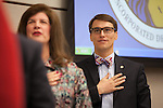 At the age of 25, Jarrett Fishpaw, became Los Altos' youngest mayor Dec. 4.<br />