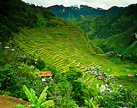 Ancient Rice Terraces at Batad, Banaue World Heritage Site, Ifugao, Philippines