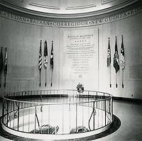 UNDATED..Historical         ..MACARTHUR MEMORIAL INTERIOR...NEG#..
