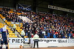 St Johnstone v Hearts..19.12.15  SPFL  McDiarmid Park, Perth<br /> Saints fans watch the game<br /> Picture by Graeme Hart.<br /> Copyright Perthshire Picture Agency<br /> Tel: 01738 623350  Mobile: 07990 594431