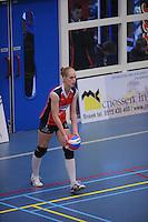 VOLLEYBAL: SNEEK: Sneker Sporthal, DELA League Play-Off Finale, 4e wedstrijd, 01-04-2012, VC Sneek DS1 - Sliedrecht Sport DS1, eindstand 1-3, Fenna Zeinstra (#3   VC Sneek), ©foto Martin de Jong