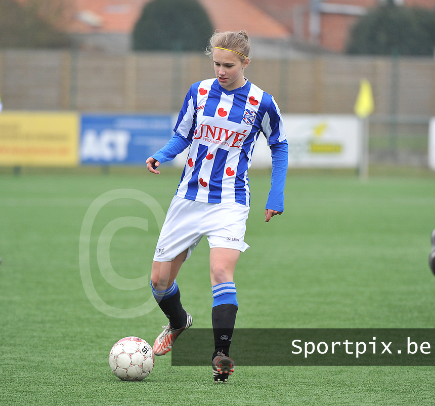 Dames Zulte-Waregem - SC Heerenveen : Vivianne Miedema.foto DAVID CATRY / Nikonpro.be