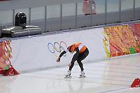 OLYMPICS: SOCHI: Adler Arena, 15-02-2014, Men's 1500m, Koen Verweij (NED) mist het goud op 0,003 seconde, ©photo Martin de Jong