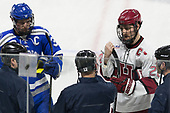 Johnny Hrabovsky (AFA - 3), Devin Tringale (Harvard - 22) - The Harvard University Crimson defeated the Air Force Academy Falcons 3-2 in the NCAA East Regional final on Saturday, March 25, 2017, at the Dunkin' Donuts Center in Providence, Rhode Island.