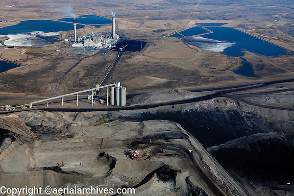 Kemmerer (WY) United States  city photos : ... Kemmerer Mine with Naughton Power Plant, Kemmerer, Wyoming | Aerial