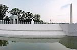 World War II Memorial, Washington Monument, National Mall, Washington DC