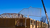 Construction photo, commercial photo of mulit-residential construction