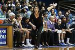 23 November 2012: Duke head coach Joanne P. McCallie. The Duke University Blue Devils played the Valparaiso University Crusaders at Cameron Indoor Stadium in Durham, North Carolina in an NCAA Division I Women's Basketball game. Duke won the game 90-45.