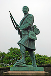 Europe, Great Britain, United Kingdom, Scotland. Monument to Robert the Bruce at Stirling Castle.