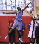 Andrew Wiggins jumps to block a shot at Scott County High School in Lexington, Ky., on Sunday, November 18, 2012. Photo by Tessa Lighty | Staff