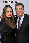 Kathryn Gallagher and Peter Gallagher attends the Broadway Opening Night performance of 'Groundhog Day' at the August Wilson Theatre on April 17, 2017 in New York City