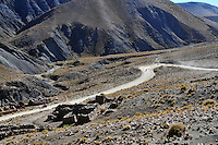 Motorcycling through the Altiplano, Potosi, Bolivia