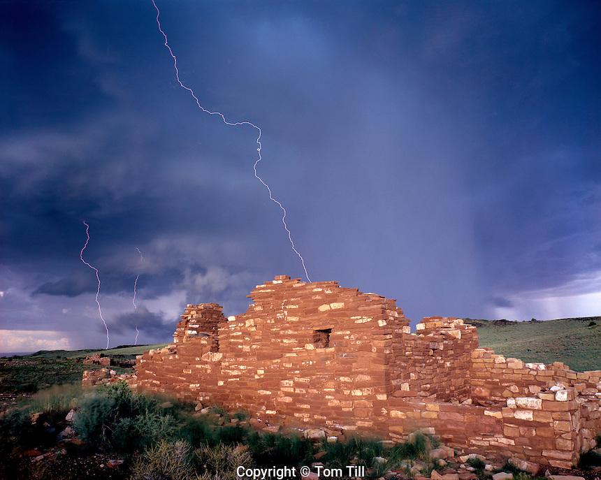 Lightning Strike, Wupatki National Monument, Arizona