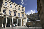 The Thermae Bath Spa, Bath, England, UK