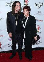 BEVERLY HILLS, CA, USA - SEPTEMBER 13: Ozzy Osbourne and Sharon Osbourne arrive at the Brent Shapiro Foundation For Alcohol And Drug Awareness' Annual 'Summer Spectacular Under The Stars' 2014 held at a Private Residence on September 13, 2014 in Beverly Hills, California, United States. (Photo by Xavier Collin/Celebrity Monitor)
