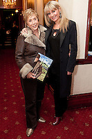"""NO REPRO FEE. 17/1/2010. The Field opening night. Ann Williams and Tara Sinnott are pictured at the Olympia Theatre for the opening night of John B Keanes 'The Field"""" Picture James Horan/Collins"""