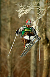 15 January 2005 - Lake Placid, New York, USA - Rusian Sharifulin representing Russia, competes in the FIS World Cup Men's Moguls Freestyle ski competition, ranking 15th for the day, at Whiteface Mountain, Lake Placid, NY. ..Mandatory Credit: Ed Wolfstein Photo.