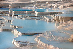 Photo &amp; Image  of Pamukkale Travetine Terrace, Turkey. Images of the white Calcium carbonate rock formations. Buy as stock photos or as photo art prints. 1