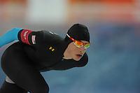 OLYMPICS: SOCHI: Adler Arena, 18-02-2014, Men's 10.000m, Emery Lehman (USA), ©photo Martin de Jong