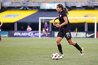 14 MAY 2011: USA Women's National Team midfielder Tobin Heath (17) during the International Friendly soccer match between Japan WNT vs USA WNT at Crew Stadium in Columbus, Ohio.
