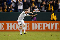 The LA Galaxy defeated the Whitecaps of Vancouver 3-0 during a MLS game at Home Depot Center stadium in Carson, California on September 17, 2011.