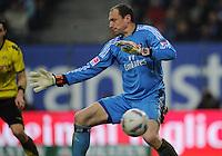 FUSSBALL   1. BUNDESLIGA   SAISON 2011/2012   18. SPIELTAG Hamburger SV - Borussia Dortmund     22.01.2012 Torwart Jaroslav Drobny (Hamburger SV)