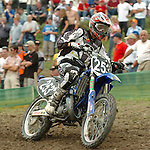 Motocross, MX2 WM 2004, Weltmeisterschaft, Grand Prix of Europe, Gaildorf (Germany) Pierre A. Renet (FRA), Yamaha
