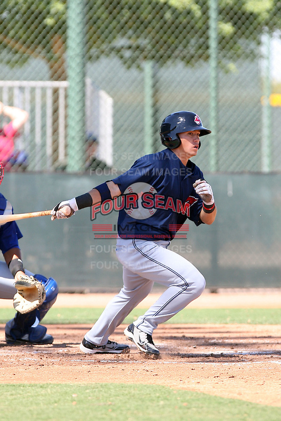 Tony Wolters - Cleveland Indians - 2010 Instructional League.Photo by:  Bill Mitchell/Four Seam Images..