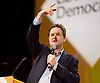 Lib Dem Spring Conference day 1 <br /> at the Echo Arena / BT Convention centre in Liverpool, Great Britain <br /> 14th March 2015 <br /> <br /> Nick Clegg <br /> Q &amp; A <br /> <br /> <br /> Photograph by Elliott Franks <br /> Image licensed to Elliott Franks Photography Services