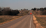 11/7/07 Smith Center, KS.Highway 281 leading into Smith Center KS...(Chris Machian/Prairie Pixel Group)