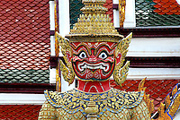 With its massive white walls and brilliant orange, green, and gold rooftops, the Grand Palace was once the home of Kings. While no longer a royal residence, the small walled city houses more than 100 buildings, temples, and statues. .