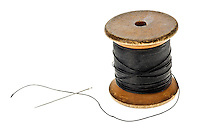 Cotton Reel with Sewing Needle- Feb 2013.