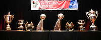 D.C. United trophies,at the United Kickoff luncheon, at the Marriott hotel in Washington DC, March 5, 2012.