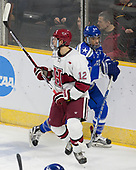John Marino (Harvard - 12), A.J. Reid (AFA - 24) - The Harvard University Crimson defeated the Air Force Academy Falcons 3-2 in the NCAA East Regional final on Saturday, March 25, 2017, at the Dunkin' Donuts Center in Providence, Rhode Island.