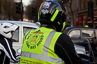 28.03.2012 - Motorcycles Protest Around Trafalgar Square Roundabout