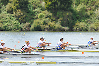 Hamilton, NEW ZEALAND. GBR W2X. Bow, Anna WATKINS [Bebington} and Katherine GRAINGER move away from the start in the women's Double Sculls.  2010 World Rowing Championship on Lake Karapiro Monday  01/11/2010. [Mandatory Credit Peter Spurrier:Intersport Images].