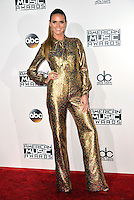 LOS ANGELES, CA - NOVEMBER 20: Heidi Klum at the 44th Annual American Music Awards at the Microsoft Theatre in Los Angeles, California on November 20, 2016. Credit: Koi Sojer/Snap'N U Photos/MediaPunch