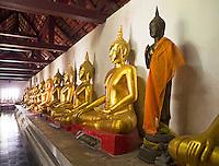 Wat Phra Si Rattana Mahathat Phitsanulok Thailand<br /> Phra Phut Chin Rat at Wat Phra Sri Rattana Mahathat Temple, Phitsanulok, Thailand,