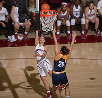 Stanford, CA - November 4, 2016: Stanford beats UC San Diego, 85-41, in exhibition play at Maples Pavilion.