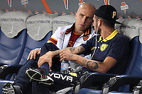 ROMA, Italy: October 31, 2013: As Roma beats AC Chievo Verona 1-0 during the Serie A match played in the Olimpico Stadium.