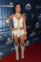 LOS ANGELES, CA - OCTOBER 22: Karrueche Tran at the Maxim Halloween at The Shrine Expo Hall on October 22, 2016 in Los Angeles, California. Credit: David Edwards/MediaPunch