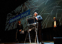 Supreme award winner Mark Muru (Datacom). Wellington Gold Awards at TSB Bank Arena, Wellington, New Zealand on Thursday, 9 July 2015. Photo: Dave Lintott / lintottphoto.co.nz