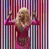 Dolly Parton performing at Rod Laver Arena, Melbourne, 22 November 2011