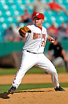 8 March 2006: David Maust, pitcher for the Washington Nationals, on the mound during a Spring Training game against the St. Louis Cardinals. The Cardinals defeated the Nationals 7-4 in 10 innings at Space Coast Stadium, in Viera, Florida...Mandatory Photo Credit: Ed Wolfstein.