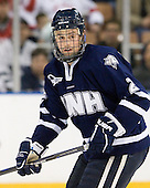 Connor Hardowa (UNH - 2) - The University of New Hampshire Wildcats defeated the Miami University RedHawks 3-1 (EN) in their NCAA Northeast Regional Semi-Final on Saturday, March 26, 2011, at Verizon Wireless Arena in Manchester, New Hampshire.