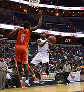 March 11, 2013  (Washington, DC)  Ballou's Marquis Hamilton #2 takes a shot during the inaugural D.C. State Athletics Championship at the Verizon Center March 11, 2013. Coolidge won 69-47.  (Photo by Don Baxter/Media Images International)